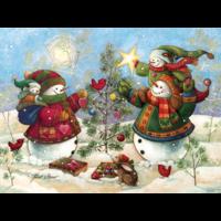 thumb-Holiday Sparkle - puzzel van 275 XXL stukjes-1