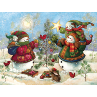 thumb-Holiday Sparkle - puzzle of 275 XXL pieces-1