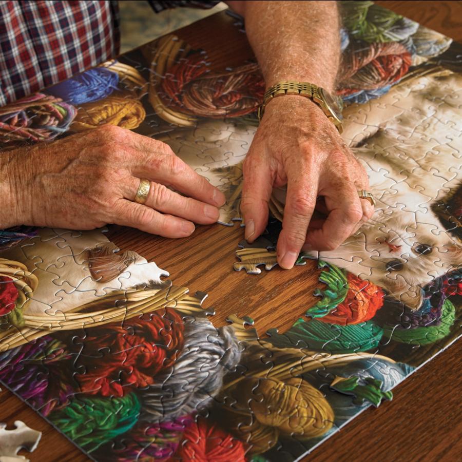 Cat Nap - puzzle of 275 XXL pieces-3