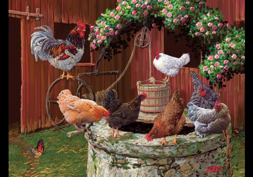 De kippen doen het goed - 275 XXL stukjes