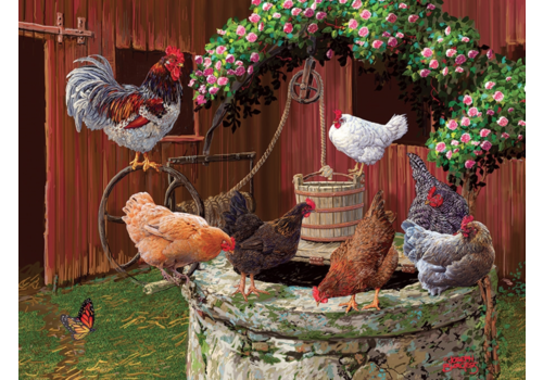 Les poulets vont bien - 275 pièces XXL