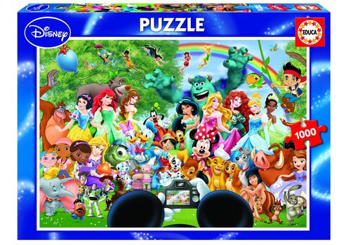 The magical world of Disney - 1000 pieces