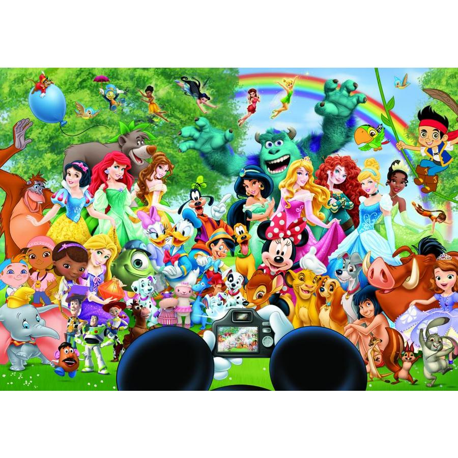 The magical world of Disney - 1000 pieces-2