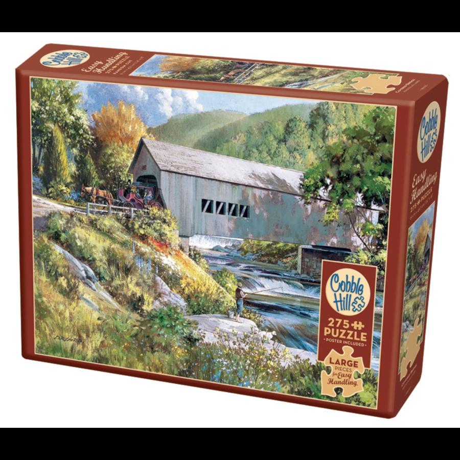 Pont couvert - puzzle de 275 pièces XXL-1