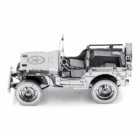 thumb-Willy's Overland Jeep - Iconx 3D puzzel-2