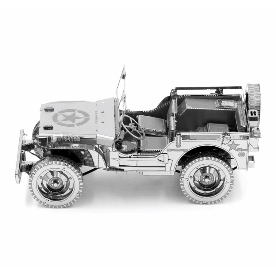 Willy's Overland Jeep - Iconx 3D puzzel-2