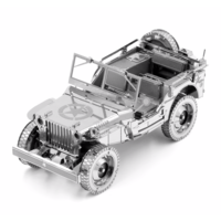 thumb-Willy's Overland Jeep - Iconx 3D puzzel-1