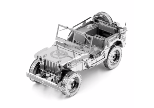 Metal Earth Willy's Overland Jeep - Iconx puzzle 3D