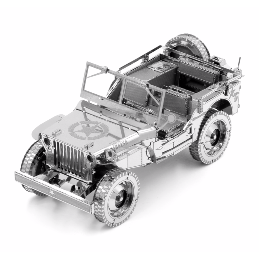 Willy's Overland Jeep - Iconx puzzle 3D-1