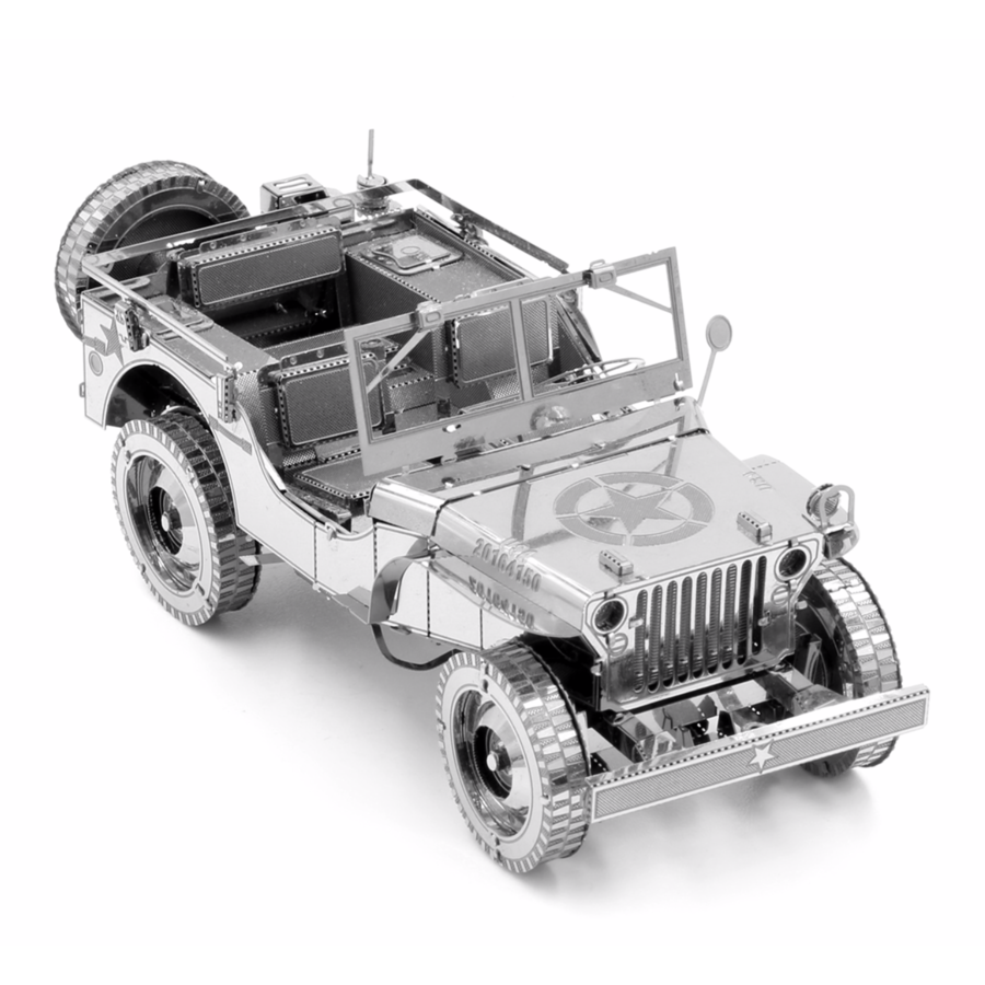 Willy's Overland Jeep - Iconx 3D puzzel-3