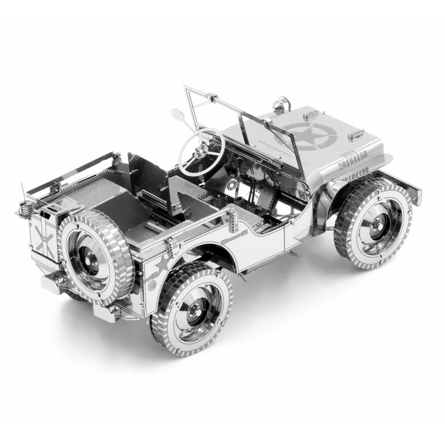 Willy's Overland Jeep - Iconx puzzle 3D-4