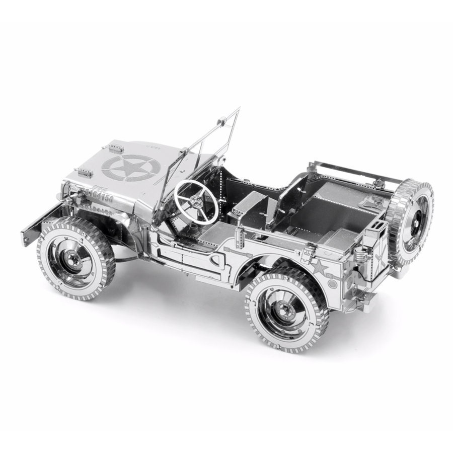 Willy's Overland Jeep - Iconx 3D puzzel-5