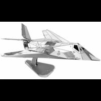 thumb-F-117 Nighthawk - 3D puzzel-2