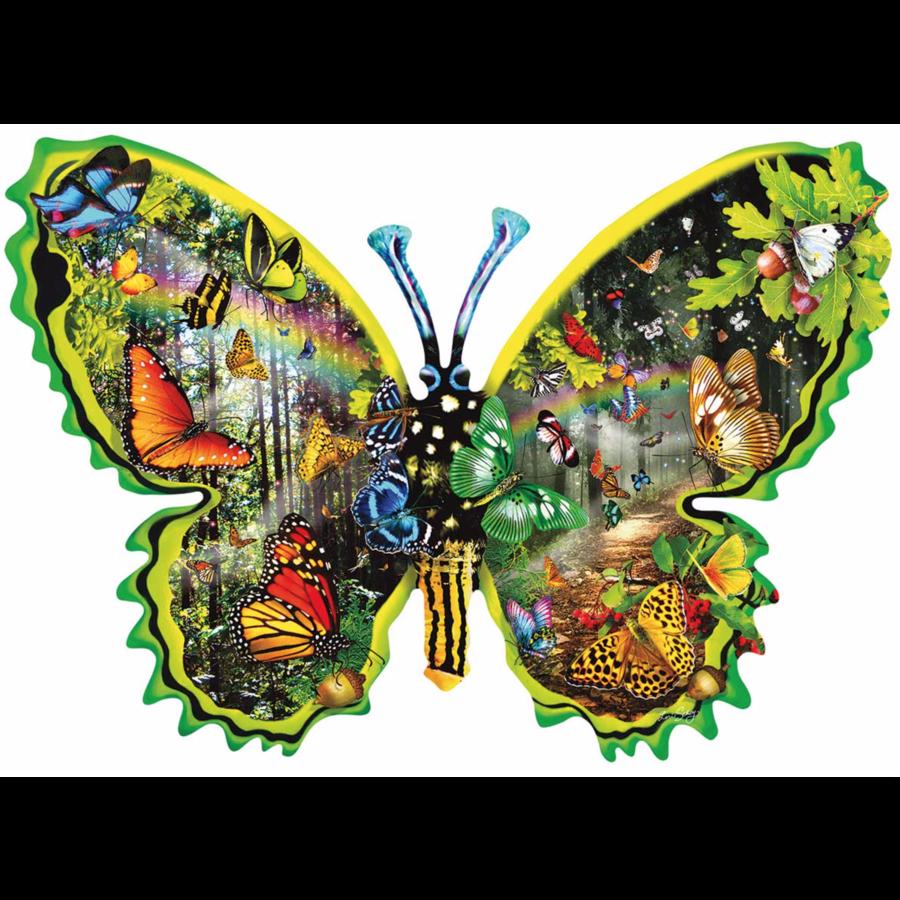 Migration des papillons  - puzzle de 1000 pièces-1