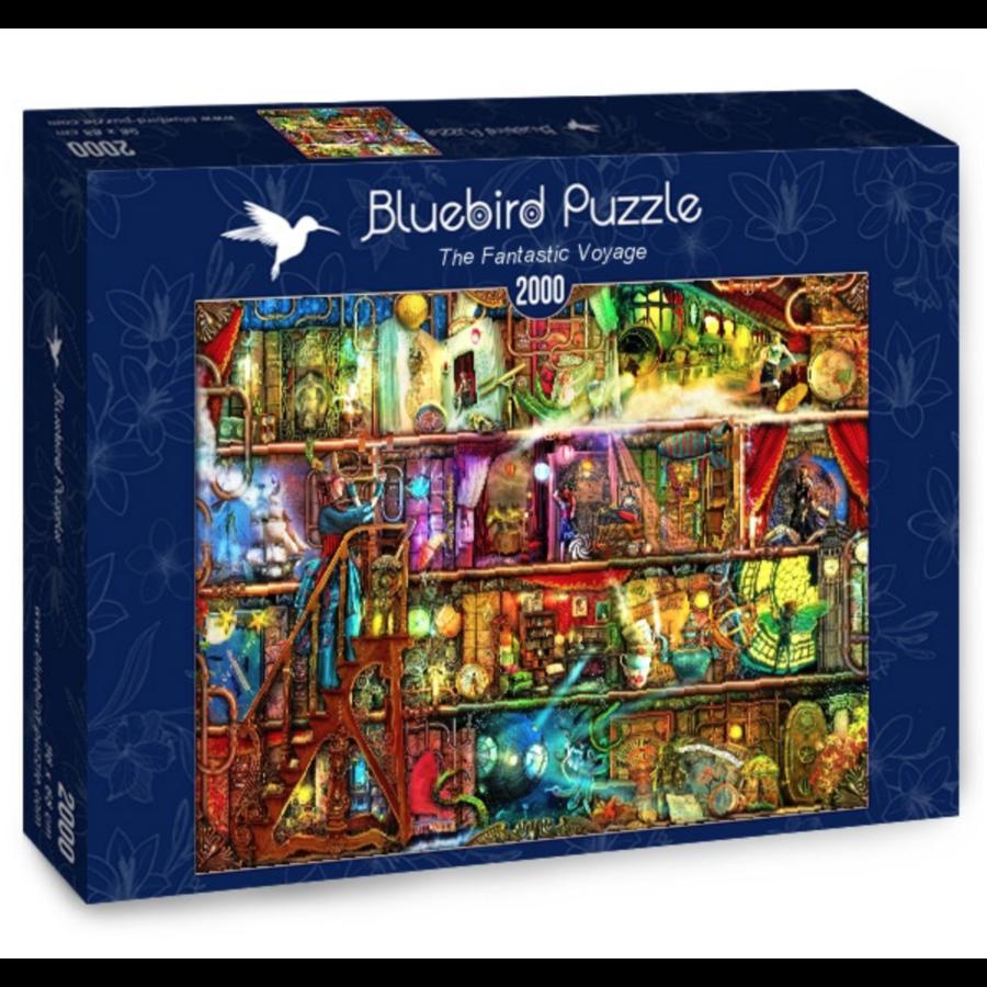 De fantastische reis - puzzel van 2000 stukjes-2