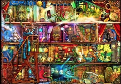 Bluebird Puzzle The Fantastic Voyage  - 2000 pieces