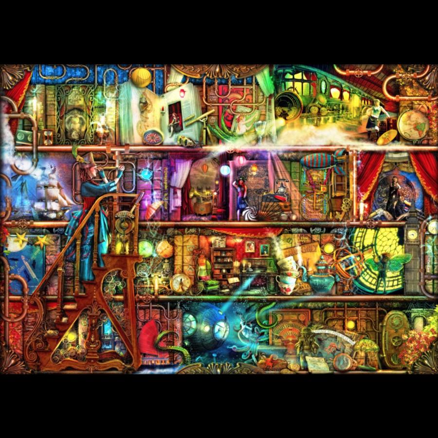 De fantastische reis - puzzel van 2000 stukjes-1
