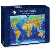 thumb-World map - puzzle of 1000 pieces-2