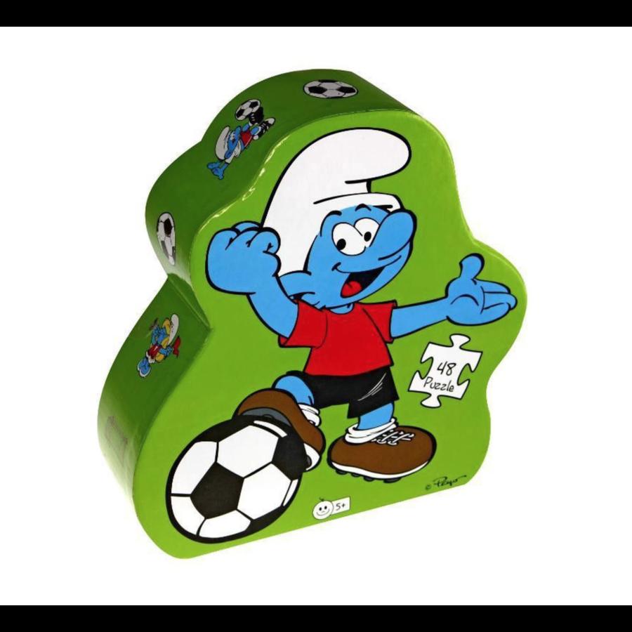 Smurf Puzzel Deco Voetbal 48 stukjes-1