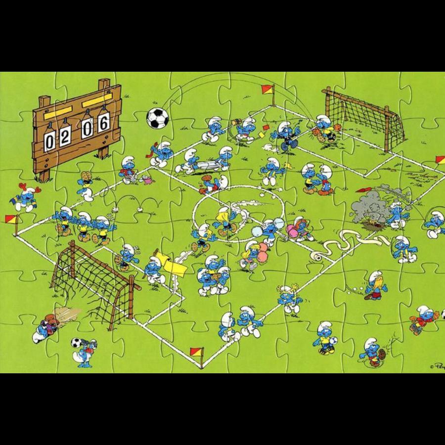 Smurf Puzzel Deco Voetbal 48 stukjes-2