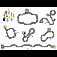 thumb-Barbapapa - Puzzle de sol - 43 pièces-3