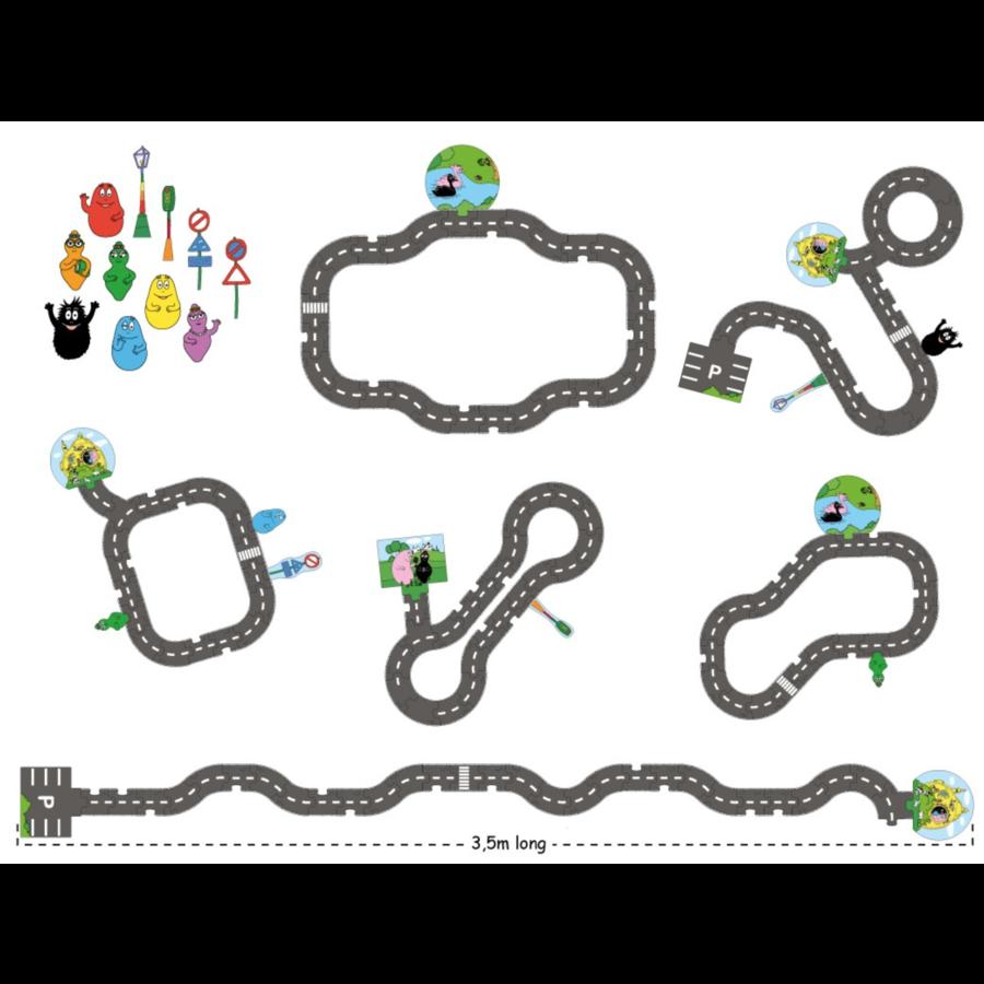 Barbapapa - Puzzle de sol - 43 pièces-3