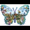 SUNSOUT Papillons Ferme - puzzle de 1000 pièces