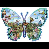 Papillons Ferme - puzzle de 1000 pièces