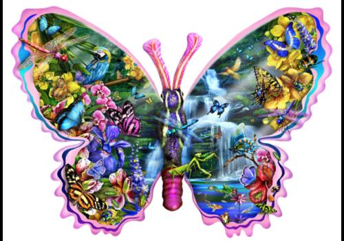SUNSOUT Vlinder Waterval - 1000 stukjes