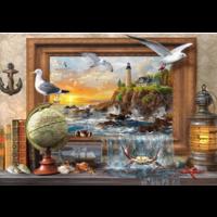 thumb-Maritiem komt tot leven  - puzzel van 1000 stukjes-1
