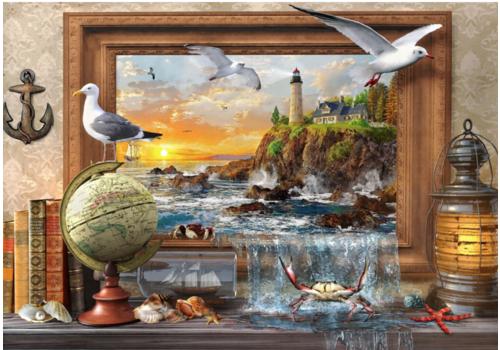 Bluebird Puzzle De la mer à la vie  - 1000 pièces