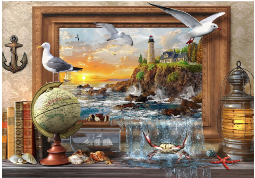 Bluebird Puzzle Marine to Life  - 1000 pieces