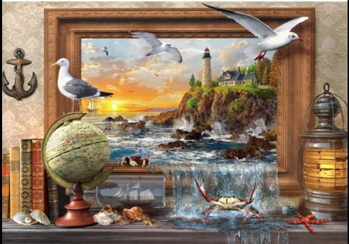 Bluebird Puzzle Maritiem komt tot leven - 1000 stukjes