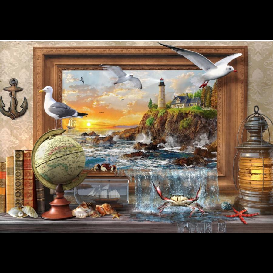 De la mer à la vie  - puzzle de 1000 pièces-1