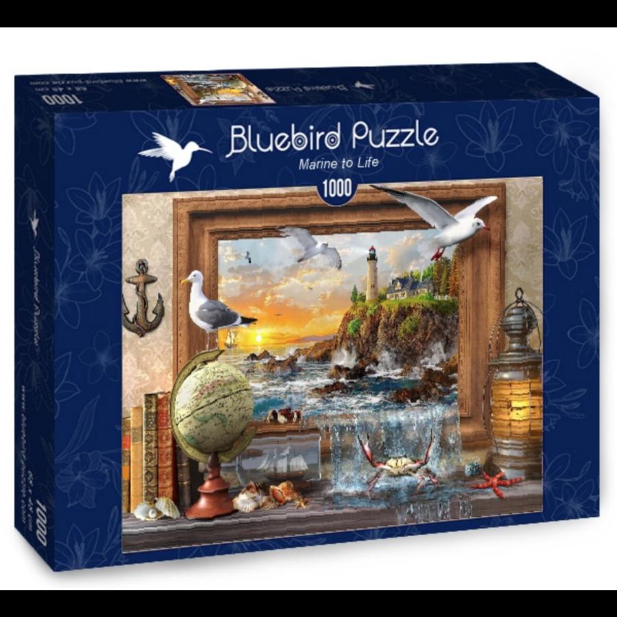 De la mer à la vie  - puzzle de 1000 pièces-2