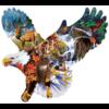 SUNSOUT Aigle de forêt - puzzle de 1000 pièces