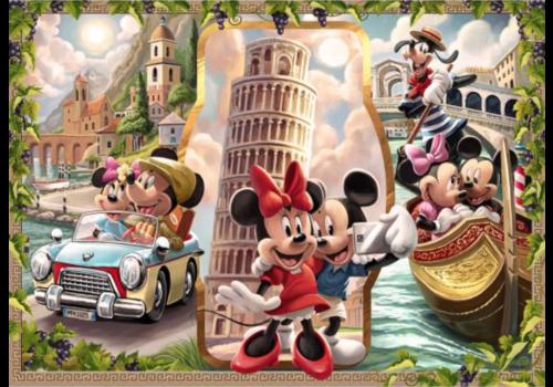 Ravensburger Mickey en Minnie op vakantie - 1000 stukjes