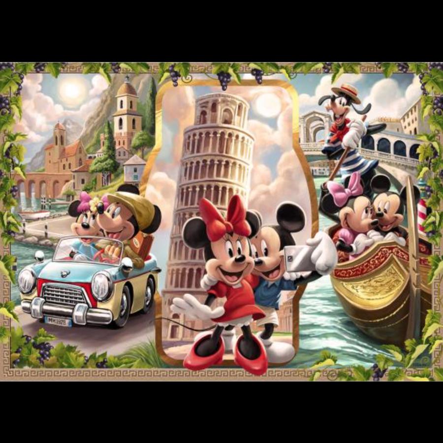 Mickey et Minnie en vacances - puzzle de 1000 pièces-1