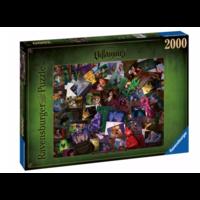 thumb-Villainous - All Villains - puzzle de 2000 pièces-1