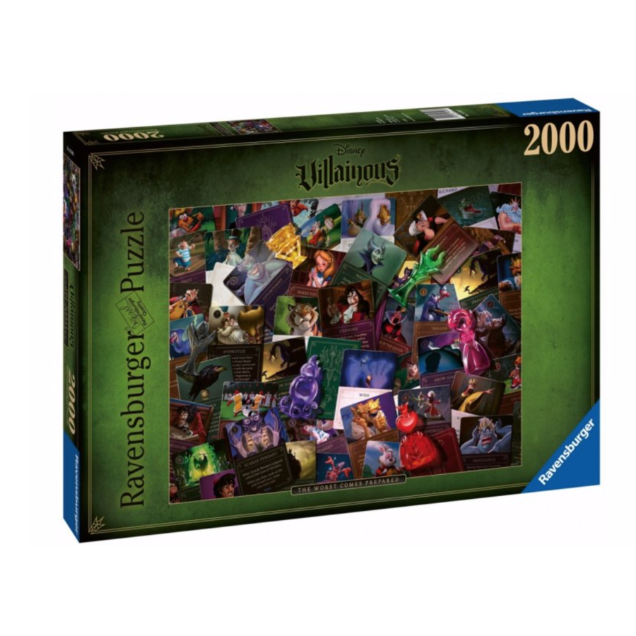 Villainous - All Villains - puzzle of 2000 pieces-1