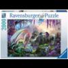 Ravensburger De vallei van de draak - puzzel van 2000 stukjes
