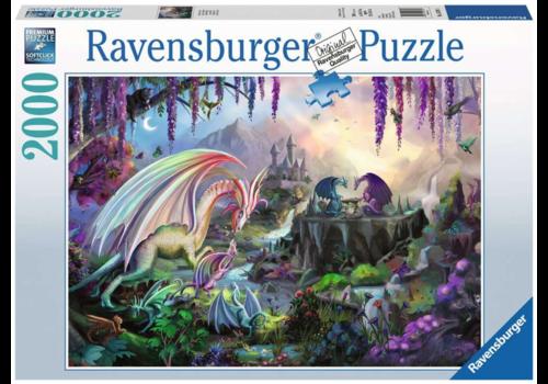 Ravensburger La vallée du dragon - 2000 pièces