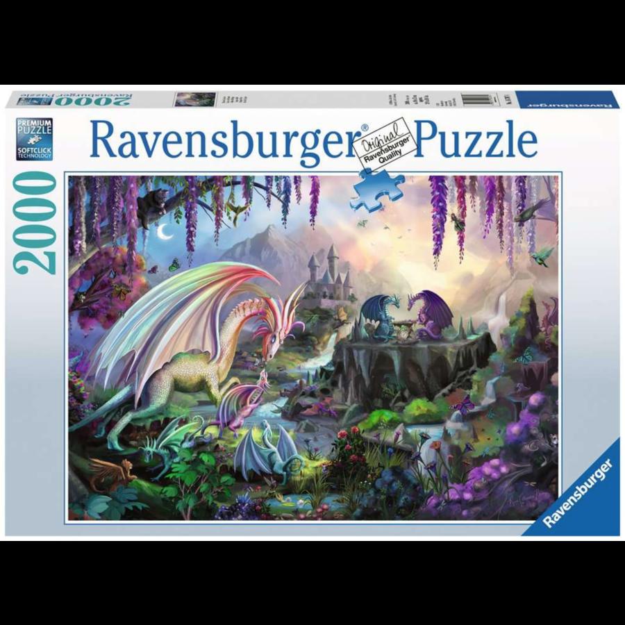 La vallée du dragon - puzzle de 2000 pièces-1