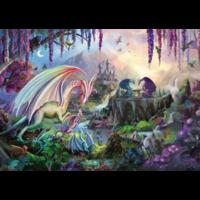 thumb-La vallée du dragon - puzzle de 2000 pièces-2