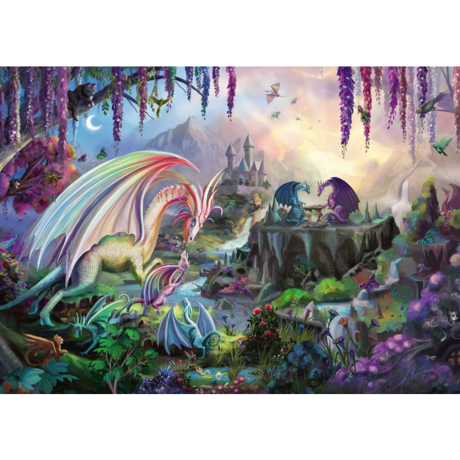 La vallée du dragon - puzzle de 2000 pièces-2