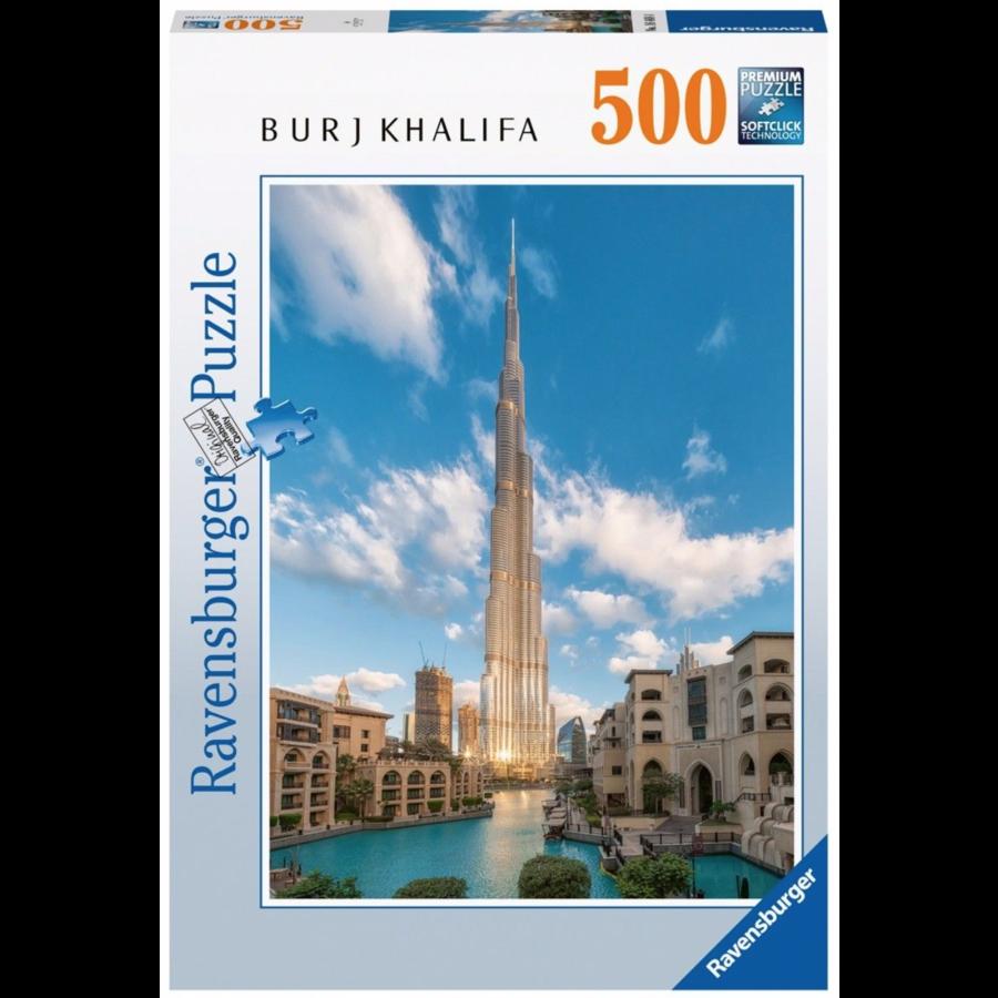 Burj Khalifa - Dubai   - 500 stukjes-1