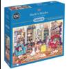 Gibsons Bark's Books - puzzel van 1000 stukjes