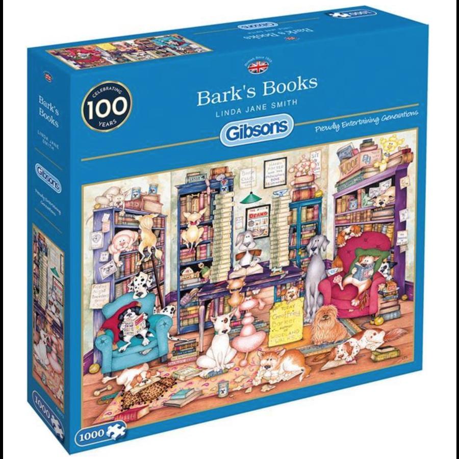 Bark's Books - puzzle de 1000 pièces-1