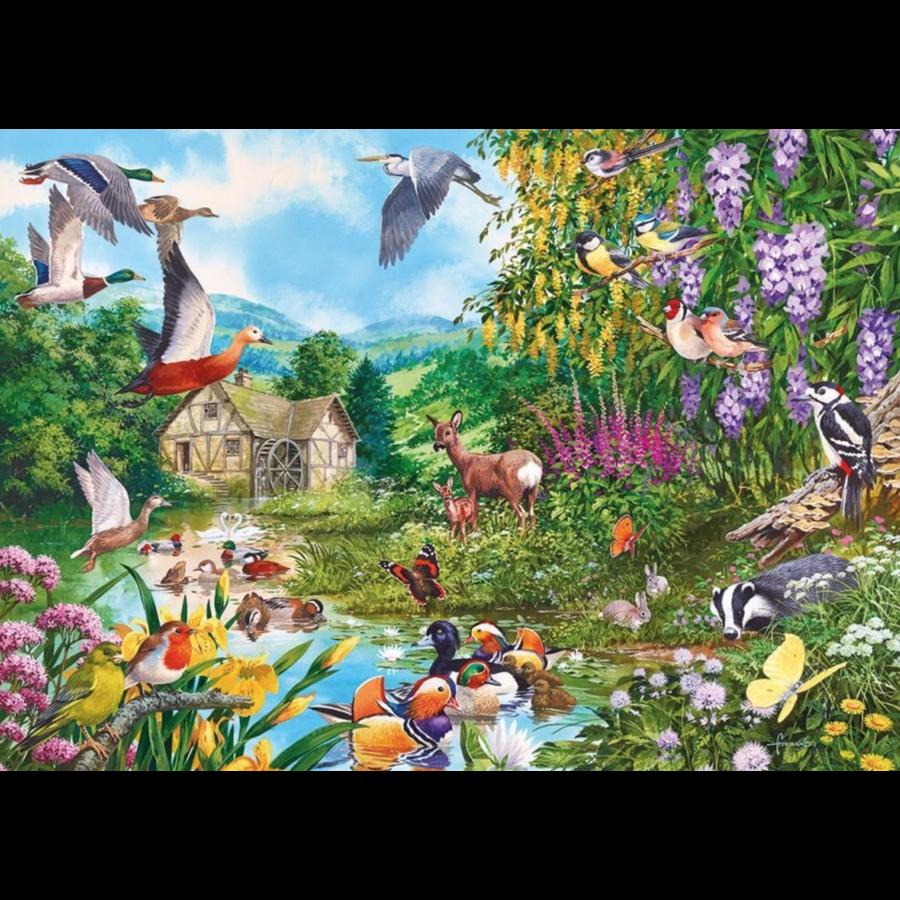 Water's edge - puzzle de 1000 pièces-1