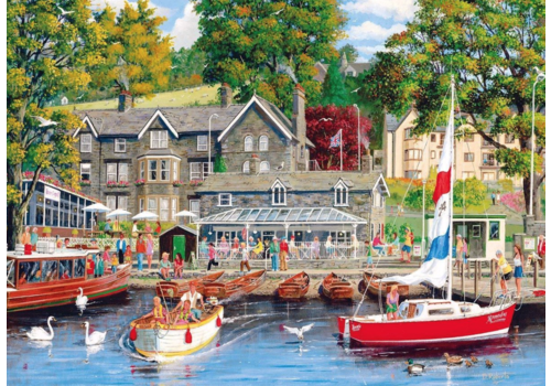 Gibsons Summer in Ambleside  - 1000 pieces